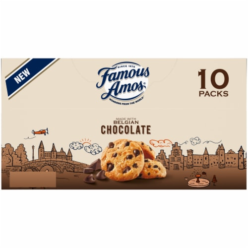 Famous Amos® Bit-Size Chocolate Chip Cookies Perspective: bottom