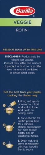 Barilla Veggie Rotini Pasta Perspective: bottom