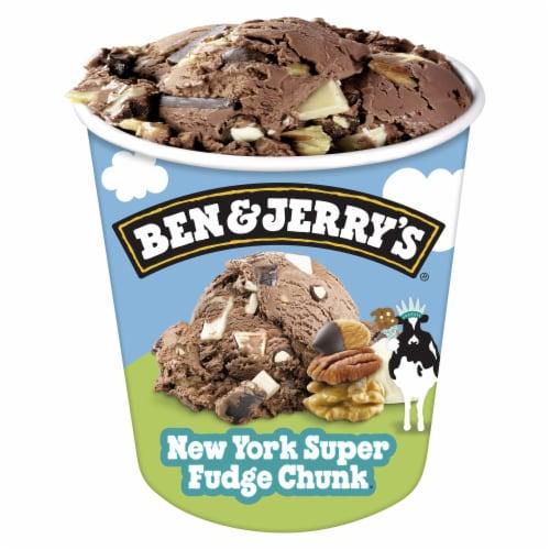 Ben & Jerry's New York Super Fudge Chunk Ice Cream Perspective: bottom