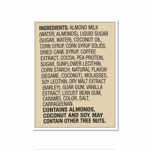 Ben & Jerry's Vegan Non-Dairy Frozen Dessert Coffee Caramel Fudge Perspective: bottom