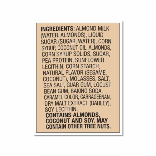 Ben & Jerry's Vegan Non-Dairy Frozen Dessert Caramel Almond Brittle Perspective: bottom