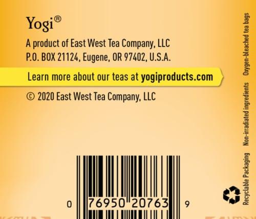 Yogi Sweet Lemon Everyday Immune Tea Perspective: bottom
