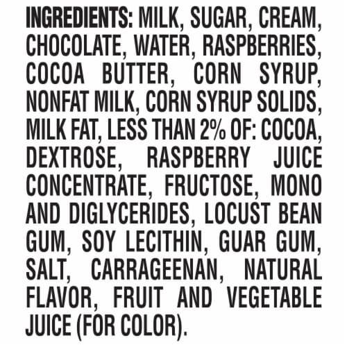 Magnum Dark Chocolate Raspberry Ice Cream Perspective: bottom