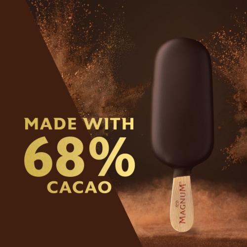 Magnum® Mini Dark Chocolate Truffle Ice Cream Bars Perspective: bottom