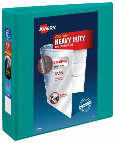 Avery Clear Cover Heavy Duty 3-Ring Binder – Assorted Perspective: bottom