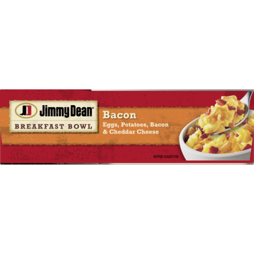 Jimmy Dean Bacon Egg & Cheese Breakfast Bowl Perspective: bottom