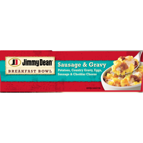 Jimmy Dean Sausage & Gravy Breakfast Bowl Perspective: bottom