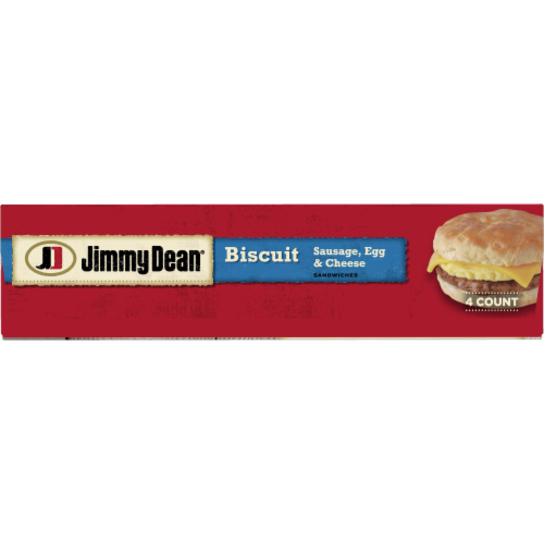 Jimmy Dean® Sausage Egg & Cheese Biscuit Sandwiches Perspective: bottom