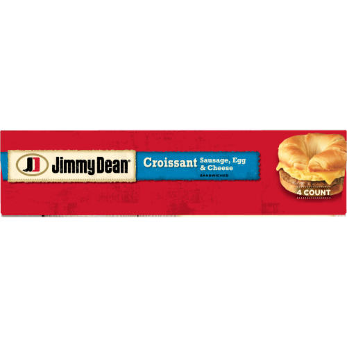 Jimmy Dean® Sausage Egg & Cheese Croissant Sandwiches Perspective: bottom