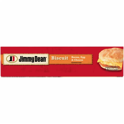 Jimmy Dean® Bacon Egg & Cheese Biscuit Sandwiches Perspective: bottom