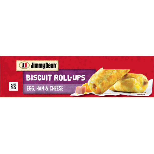 Jimmy Dean Egg Ham & Cheese Biscuit Roll-Ups Perspective: bottom