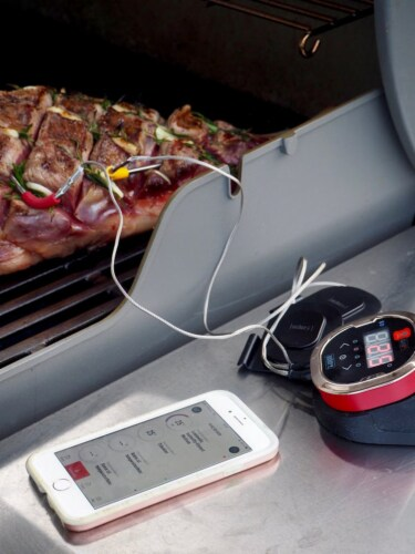 Weber iGrill 2 Bluetooth Connected Thermometer Perspective: bottom