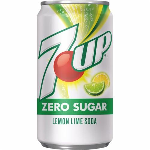 7UP® Zero Sugar Lemon-Lime Soda Perspective: bottom