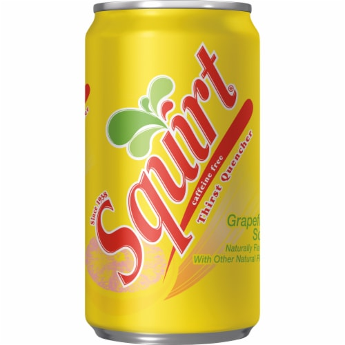 Squirt Naturally Flavored Citrus Soda Perspective: bottom