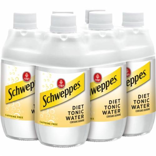 Diet Schweppes Tonic Water Perspective: bottom