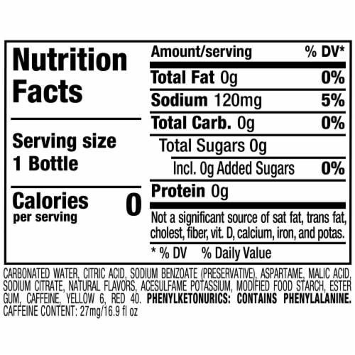 Sunkist Zero Sugar Orange Soda Perspective: bottom