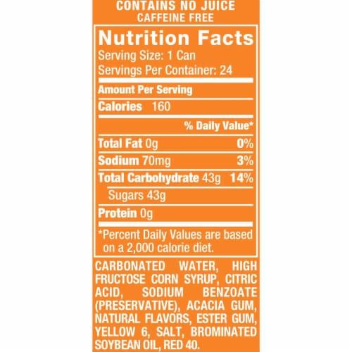 Orange Crush Soda Perspective: bottom