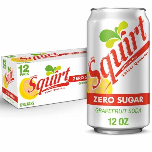 Squirt® Zero Sugar Grapefruit Soda Perspective: bottom