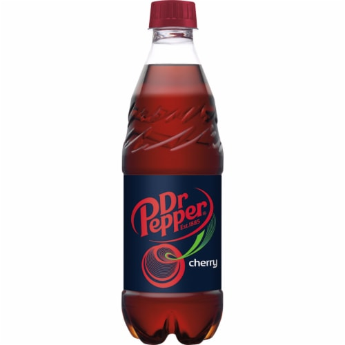 Dr Pepper Cherry Soda Perspective: bottom