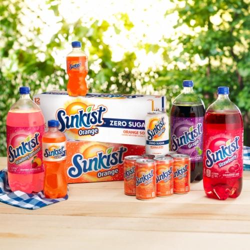 Sunkist Strawberry Lemonade Soda Perspective: bottom