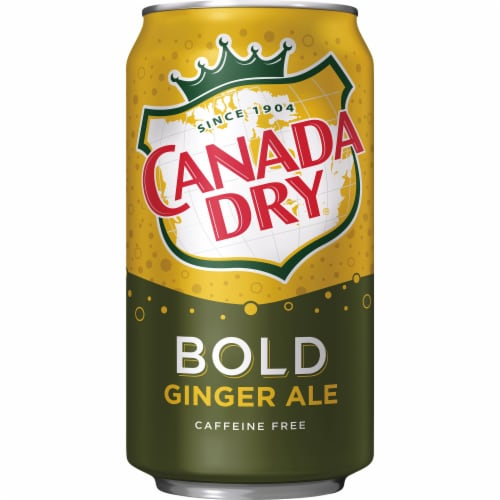 Canada Dry Caffeine Free Bold Ginger Ale Perspective: bottom