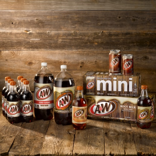 A&W Cream Soda Perspective: bottom