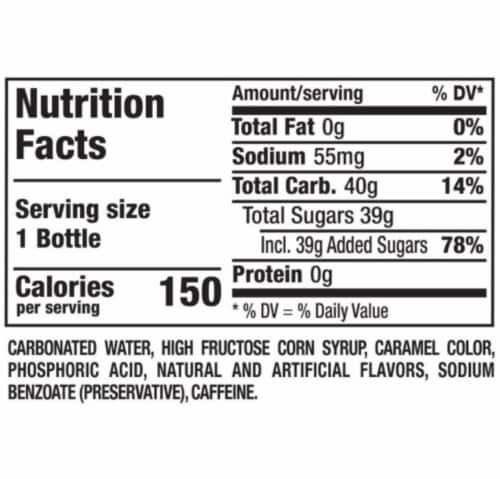 Dr Pepper Soda Perspective: bottom