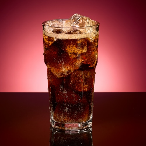Dr Pepper Soda Perspective: bottom