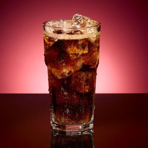 Diet Dr Pepper Soda Perspective: bottom