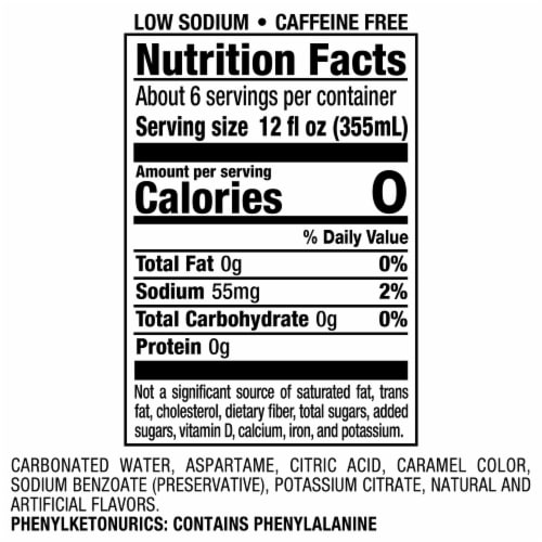Vernors® Zero Sugar Ginger Soda Perspective: bottom