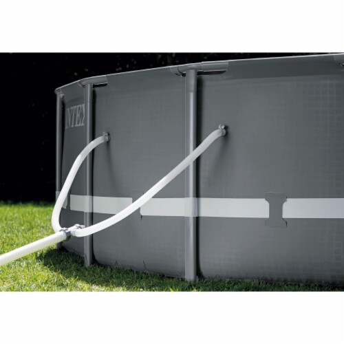 Intex 18Ft x 52In Ultra XTR Frame Round Above Ground Swimming Pool Set with Pump Perspective: bottom