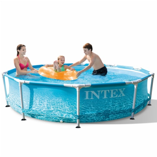 Bestway SaluSpa Miami 4-Person Portable Inflatable Round Air Jet Hot Tub Spa Perspective: bottom