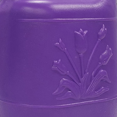 Union Products 63068 Indoor/Outdoor 2 Gallon Plastic Plant Watering Can, Purple Perspective: bottom