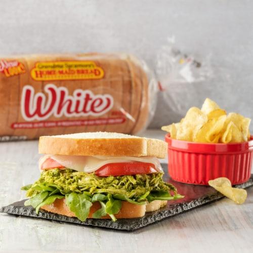Grandma Sycamore's Home-Maid White Bread Perspective: bottom