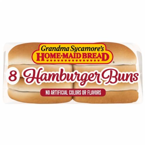 Grandma Sycamore's Hamburger Buns Perspective: bottom
