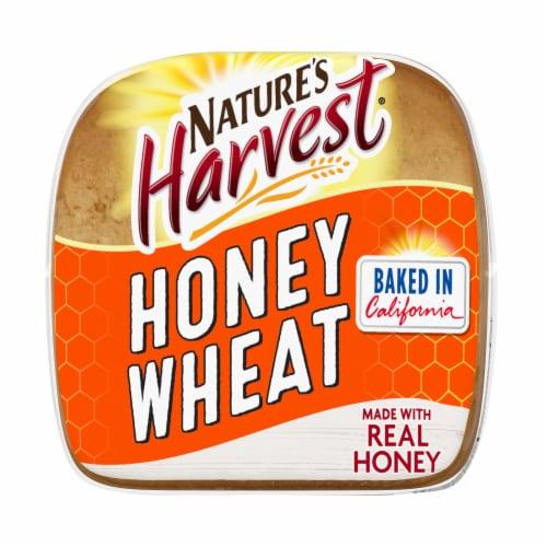 Nature's Harvest® Whole Grain Honey Wheat Bread Perspective: bottom