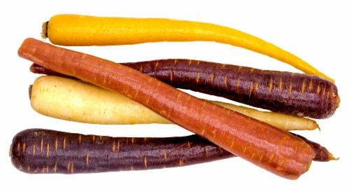 Cal-Organic Farms Organic Rainbow Carrots Perspective: bottom