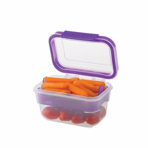 Progressive International Snaplock 2 Cup Capacity Snack To Go Plastic Container Perspective: bottom