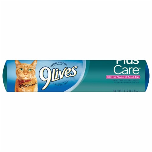 9Lives PlusCare Dry Cat Food Perspective: bottom