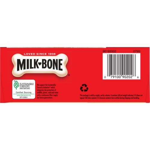Milk-Bone Small Original Dog Biscuits Perspective: bottom