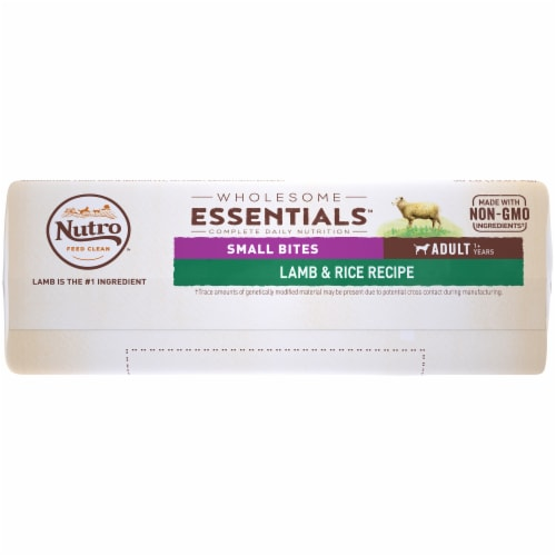 Nutro Wholesome Essentials™  Lamb & Rice Small Bites Adult Dog Food Perspective: bottom