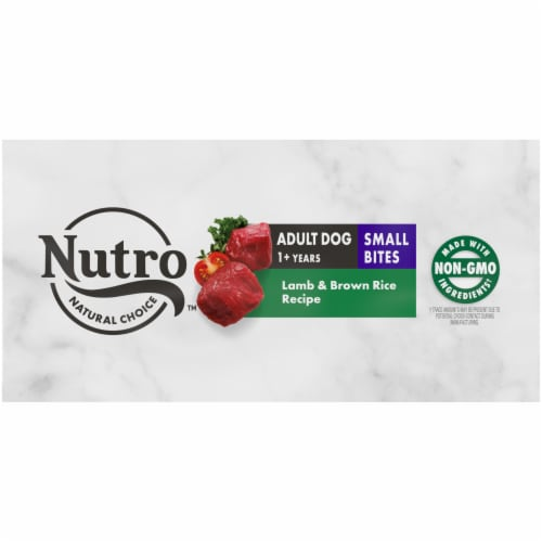 Nutro Wholesome Essentials Small Bites Adult Lamb & Rice Recipe Dry Dog Food Perspective: bottom
