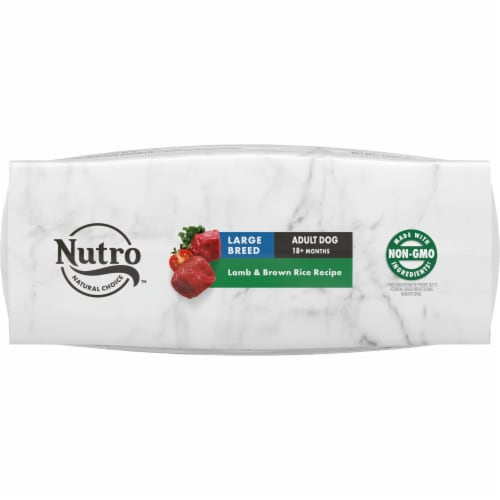 Nutro Wholesome Essentials Lamb & Rice Recipe Large Breed Dry Adult Dog Food Perspective: bottom