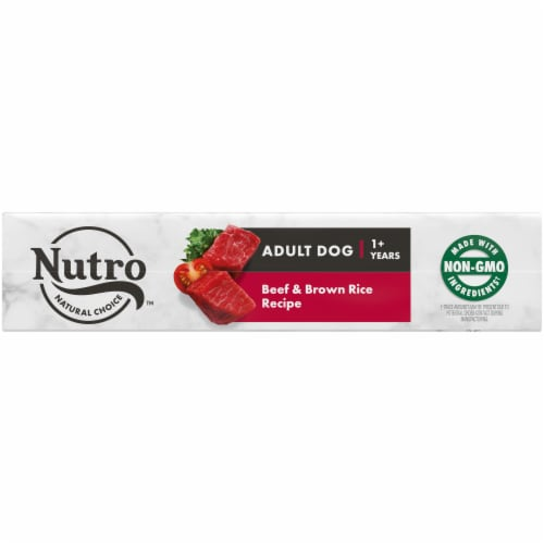Nutro Natural Choice Beef & Brown Rice Adult Natural Dry Dog Food Perspective: bottom