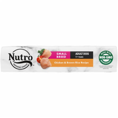 Nutro Natural Choice Chicken & Brown Rice Recipe Small Breed Adult Dry Dog Food Perspective: bottom