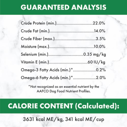 Nutro Wholesome Essentials Small Bites Lamb & Rice Recipe Adult Dry Dog Food Perspective: bottom
