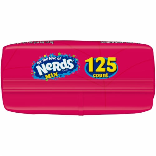Nerds Assorted Candy Perspective: bottom