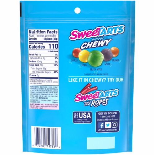 SweeTARTS Mini Chewy Candy Perspective: bottom