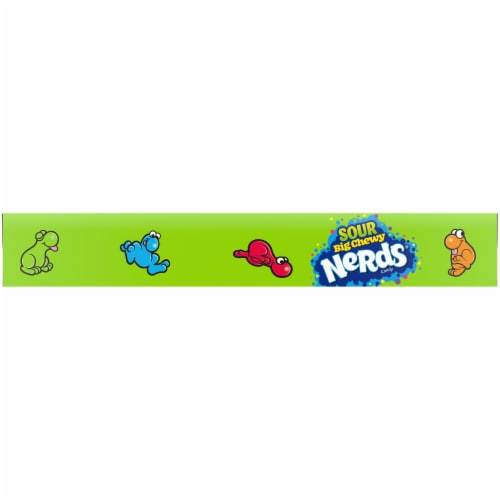 Nerds® Sour Big Chewy Candy Perspective: bottom