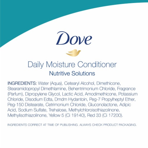 Dove Nutritive Solutions Daily Moisture Conditioner Perspective: bottom